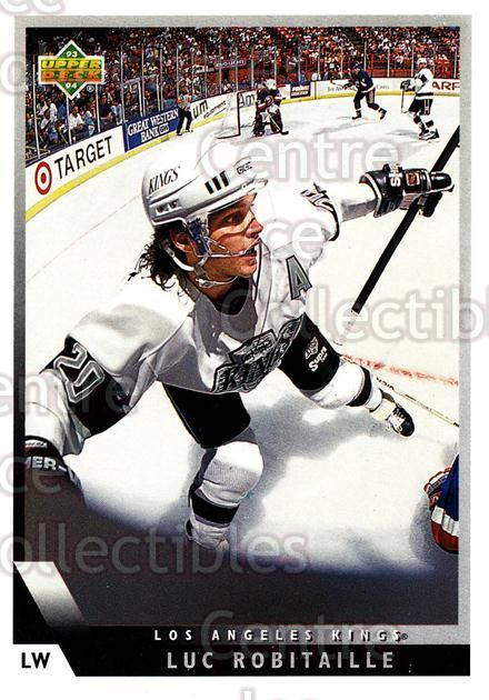 1993-94 Upper Deck #414 Luc Robitaille<br/>10 In Stock - $1.00 each - <a href=https://centericecollectibles.foxycart.com/cart?name=1993-94%20Upper%20Deck%20%23414%20Luc%20Robitaille...&quantity_max=10&price=$1.00&code=181504 class=foxycart> Buy it now! </a>