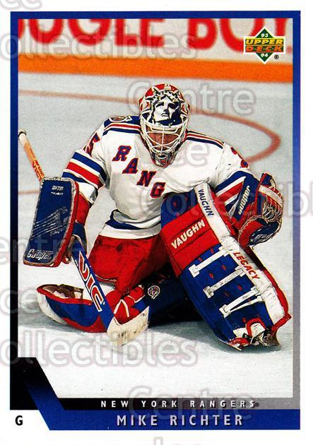 1993-94 Upper Deck #42 Mike Richter<br/>12 In Stock - $1.00 each - <a href=https://centericecollectibles.foxycart.com/cart?name=1993-94%20Upper%20Deck%20%2342%20Mike%20Richter...&quantity_max=12&price=$1.00&code=181510 class=foxycart> Buy it now! </a>