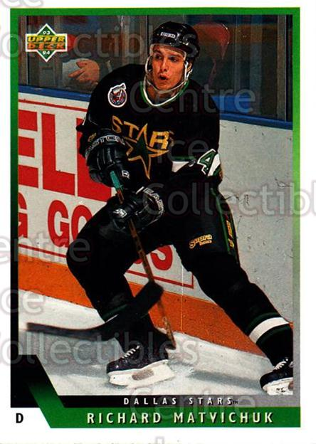 1993-94 Upper Deck #55 Richard Matvichuk<br/>10 In Stock - $1.00 each - <a href=https://centericecollectibles.foxycart.com/cart?name=1993-94%20Upper%20Deck%20%2355%20Richard%20Matvich...&quantity_max=10&price=$1.00&code=181650 class=foxycart> Buy it now! </a>