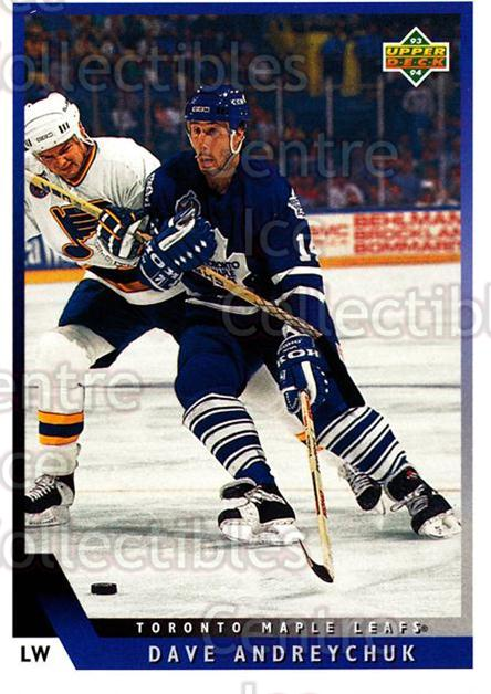 1993-94 Upper Deck #86 Dave Andreychuk<br/>11 In Stock - $1.00 each - <a href=https://centericecollectibles.foxycart.com/cart?name=1993-94%20Upper%20Deck%20%2386%20Dave%20Andreychuk...&quantity_max=11&price=$1.00&code=181709 class=foxycart> Buy it now! </a>