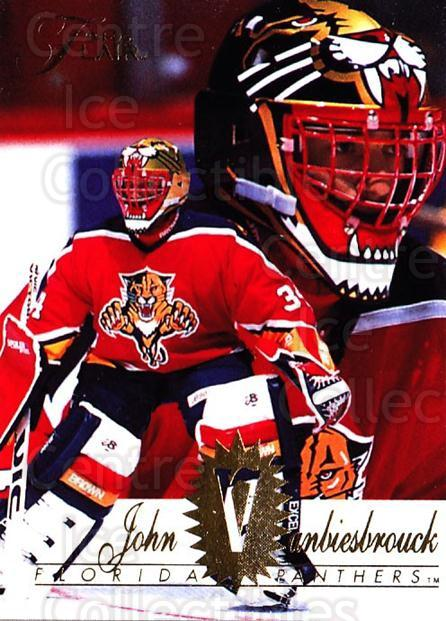 1994-95 Flair #69 John Vanbiesbrouck<br/>2 In Stock - $1.00 each - <a href=https://centericecollectibles.foxycart.com/cart?name=1994-95%20Flair%20%2369%20John%20Vanbiesbro...&quantity_max=2&price=$1.00&code=181787 class=foxycart> Buy it now! </a>