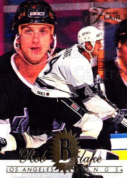 1994-95 Flair #77 Rob Blake<br/>3 In Stock - $1.00 each - <a href=https://centericecollectibles.foxycart.com/cart?name=1994-95%20Flair%20%2377%20Rob%20Blake...&quantity_max=3&price=$1.00&code=181796 class=foxycart> Buy it now! </a>