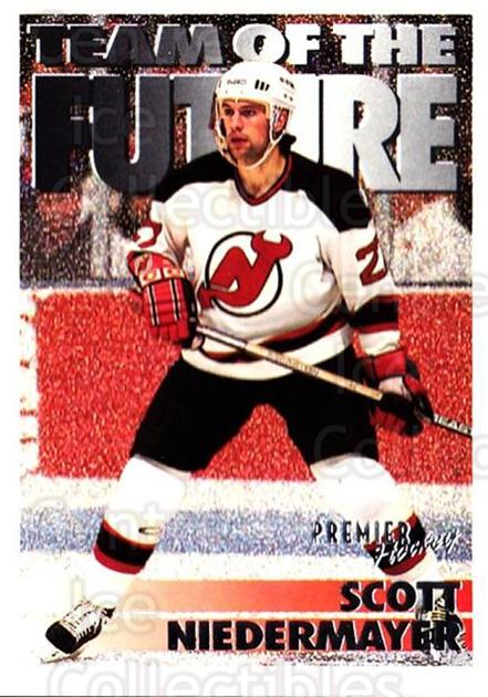 1994-95 OPC Premier #240 Scott Niedermayer<br/>6 In Stock - $1.00 each - <a href=https://centericecollectibles.foxycart.com/cart?name=1994-95%20OPC%20Premier%20%23240%20Scott%20Niedermay...&quantity_max=6&price=$1.00&code=182433 class=foxycart> Buy it now! </a>