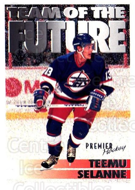 1994-95 OPC Premier #243 Teemu Selanne<br/>3 In Stock - $2.00 each - <a href=https://centericecollectibles.foxycart.com/cart?name=1994-95%20OPC%20Premier%20%23243%20Teemu%20Selanne...&quantity_max=3&price=$2.00&code=182436 class=foxycart> Buy it now! </a>