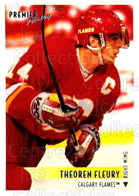1994-95 OPC Premier #295 Theo Fleury<br/>2 In Stock - $2.00 each - <a href=https://centericecollectibles.foxycart.com/cart?name=1994-95%20OPC%20Premier%20%23295%20Theo%20Fleury...&quantity_max=2&price=$2.00&code=182493 class=foxycart> Buy it now! </a>