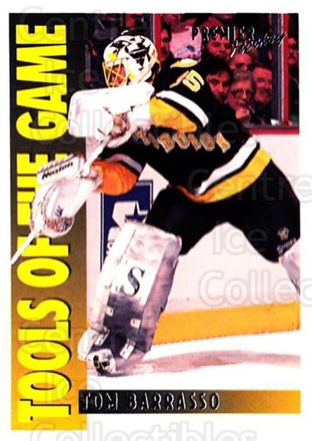 1994-95 OPC Premier #311 Tom Barrasso<br/>2 In Stock - $2.00 each - <a href=https://centericecollectibles.foxycart.com/cart?name=1994-95%20OPC%20Premier%20%23311%20Tom%20Barrasso...&quantity_max=2&price=$2.00&code=182512 class=foxycart> Buy it now! </a>