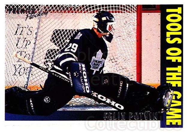 1994-95 OPC Premier #313 Felix Potvin<br/>2 In Stock - $2.00 each - <a href=https://centericecollectibles.foxycart.com/cart?name=1994-95%20OPC%20Premier%20%23313%20Felix%20Potvin...&quantity_max=2&price=$2.00&code=182514 class=foxycart> Buy it now! </a>