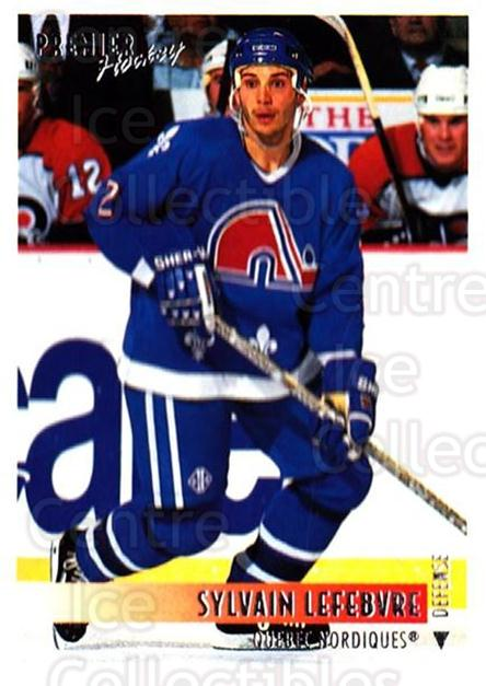 1994-95 OPC Premier #364 Sylvain Lefebvre<br/>5 In Stock - $1.00 each - <a href=https://centericecollectibles.foxycart.com/cart?name=1994-95%20OPC%20Premier%20%23364%20Sylvain%20Lefebvr...&quantity_max=5&price=$1.00&code=182567 class=foxycart> Buy it now! </a>