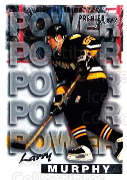 1994-95 OPC Premier #492 Larry Murphy<br/>5 In Stock - $1.00 each - <a href=https://centericecollectibles.foxycart.com/cart?name=1994-95%20OPC%20Premier%20%23492%20Larry%20Murphy...&quantity_max=5&price=$1.00&code=182699 class=foxycart> Buy it now! </a>