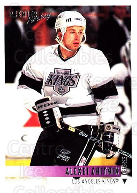 1994-95 OPC Premier #57 Alexei Zhitnik<br/>5 In Stock - $1.00 each - <a href=https://centericecollectibles.foxycart.com/cart?name=1994-95%20OPC%20Premier%20%2357%20Alexei%20Zhitnik...&quantity_max=5&price=$1.00&code=182765 class=foxycart> Buy it now! </a>