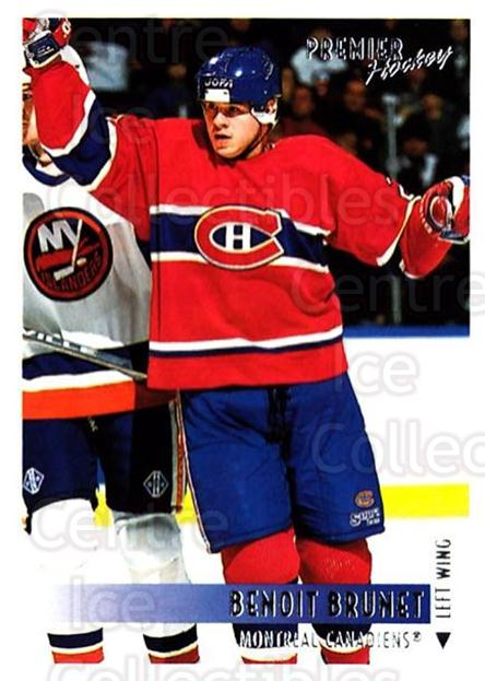 1994-95 OPC Premier #94 Benoit Brunet<br/>5 In Stock - $1.00 each - <a href=https://centericecollectibles.foxycart.com/cart?name=1994-95%20OPC%20Premier%20%2394%20Benoit%20Brunet...&quantity_max=5&price=$1.00&code=182805 class=foxycart> Buy it now! </a>