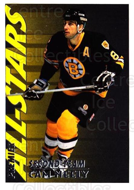 1994-95 Topps Premier #129 Cam Neely<br/>4 In Stock - $1.00 each - <a href=https://centericecollectibles.foxycart.com/cart?name=1994-95%20Topps%20Premier%20%23129%20Cam%20Neely...&quantity_max=4&price=$1.00&code=183006 class=foxycart> Buy it now! </a>