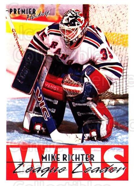 1994-95 Topps Premier #155 Mike Richter<br/>4 In Stock - $1.00 each - <a href=https://centericecollectibles.foxycart.com/cart?name=1994-95%20Topps%20Premier%20%23155%20Mike%20Richter...&quantity_max=4&price=$1.00&code=183035 class=foxycart> Buy it now! </a>