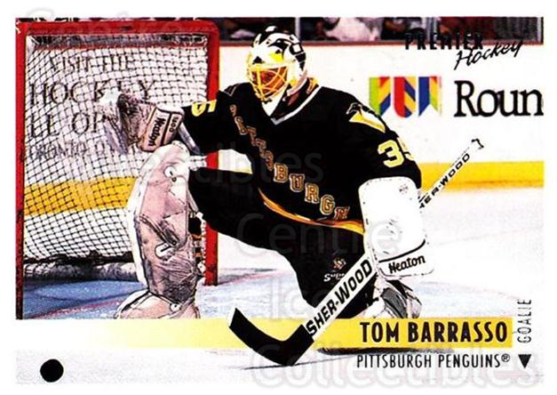 1994-95 Topps Premier #206 Tom Barrasso<br/>2 In Stock - $1.00 each - <a href=https://centericecollectibles.foxycart.com/cart?name=1994-95%20Topps%20Premier%20%23206%20Tom%20Barrasso...&price=$1.00&code=183091 class=foxycart> Buy it now! </a>