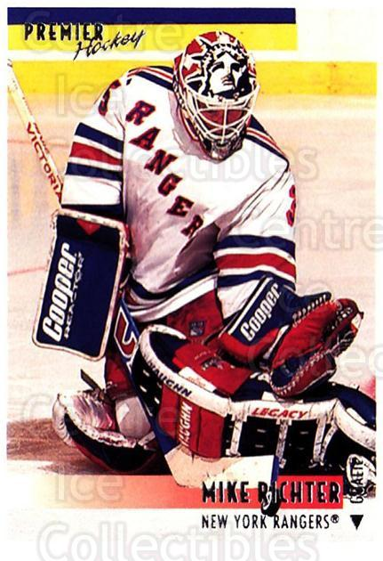 1994-95 Topps Premier #70 Mike Richter<br/>4 In Stock - $1.00 each - <a href=https://centericecollectibles.foxycart.com/cart?name=1994-95%20Topps%20Premier%20%2370%20Mike%20Richter...&quantity_max=4&price=$1.00&code=183455 class=foxycart> Buy it now! </a>