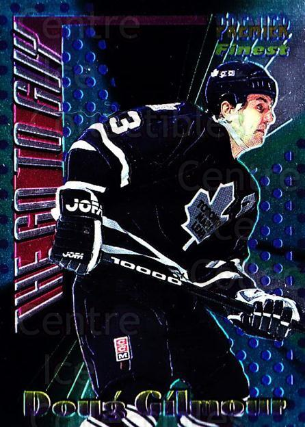 1994-95 Topps Premier The Go To Guy #14 Doug Gilmour<br/>2 In Stock - $3.00 each - <a href=https://centericecollectibles.foxycart.com/cart?name=1994-95%20Topps%20Premier%20The%20Go%20To%20Guy%20%2314%20Doug%20Gilmour...&quantity_max=2&price=$3.00&code=183488 class=foxycart> Buy it now! </a>