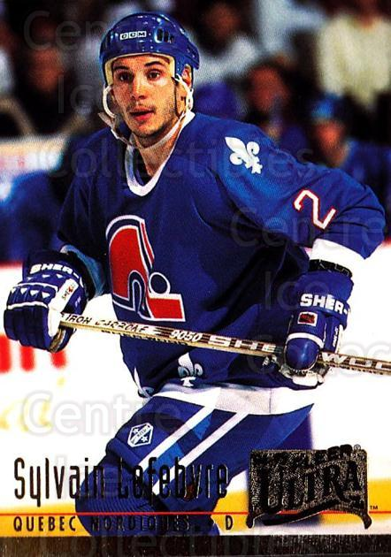 1994-95 Ultra #360 Sylvain Lefebvre<br/>3 In Stock - $1.00 each - <a href=https://centericecollectibles.foxycart.com/cart?name=1994-95%20Ultra%20%23360%20Sylvain%20Lefebvr...&quantity_max=3&price=$1.00&code=183615 class=foxycart> Buy it now! </a>