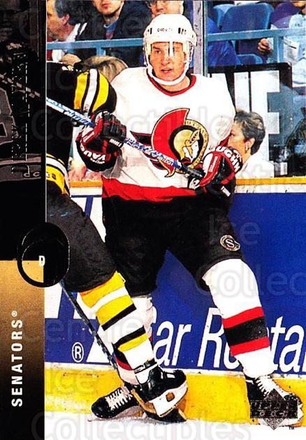 1994-95 Upper Deck #107 Derek Mayer<br/>6 In Stock - $1.00 each - <a href=https://centericecollectibles.foxycart.com/cart?name=1994-95%20Upper%20Deck%20%23107%20Derek%20Mayer...&quantity_max=6&price=$1.00&code=183726 class=foxycart> Buy it now! </a>