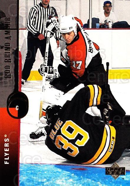 1994-95 Upper Deck #111 Rod Brind'Amour<br/>6 In Stock - $1.00 each - <a href=https://centericecollectibles.foxycart.com/cart?name=1994-95%20Upper%20Deck%20%23111%20Rod%20Brind'Amour...&quantity_max=6&price=$1.00&code=183731 class=foxycart> Buy it now! </a>