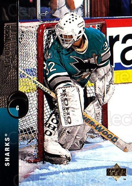 1994-95 Upper Deck #116 Arturs Irbe<br/>3 In Stock - $1.00 each - <a href=https://centericecollectibles.foxycart.com/cart?name=1994-95%20Upper%20Deck%20%23116%20Arturs%20Irbe...&quantity_max=3&price=$1.00&code=183736 class=foxycart> Buy it now! </a>