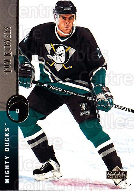 1994-95 Upper Deck #123 Tom Kurvers<br/>7 In Stock - $1.00 each - <a href=https://centericecollectibles.foxycart.com/cart?name=1994-95%20Upper%20Deck%20%23123%20Tom%20Kurvers...&quantity_max=7&price=$1.00&code=183744 class=foxycart> Buy it now! </a>