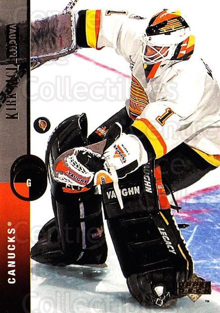 1994-95 Upper Deck #133 Kirk McLean<br/>5 In Stock - $1.00 each - <a href=https://centericecollectibles.foxycart.com/cart?name=1994-95%20Upper%20Deck%20%23133%20Kirk%20McLean...&quantity_max=5&price=$1.00&code=183755 class=foxycart> Buy it now! </a>
