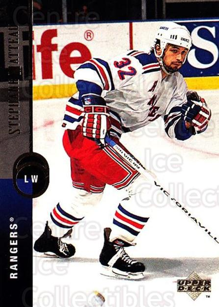 1994-95 Upper Deck #136 Stephane Matteau<br/>7 In Stock - $1.00 each - <a href=https://centericecollectibles.foxycart.com/cart?name=1994-95%20Upper%20Deck%20%23136%20Stephane%20Mattea...&quantity_max=7&price=$1.00&code=183758 class=foxycart> Buy it now! </a>