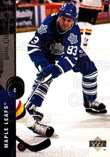 1994-95 Upper Deck #138 Doug Gilmour<br/>5 In Stock - $1.00 each - <a href=https://centericecollectibles.foxycart.com/cart?name=1994-95%20Upper%20Deck%20%23138%20Doug%20Gilmour...&quantity_max=5&price=$1.00&code=183760 class=foxycart> Buy it now! </a>