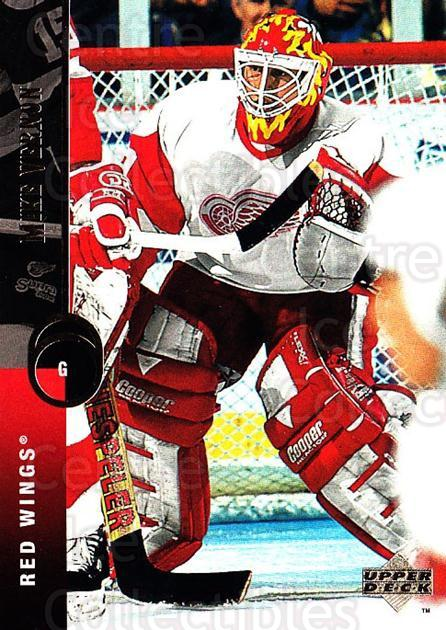 1994-95 Upper Deck #141 Mike Vernon<br/>6 In Stock - $1.00 each - <a href=https://centericecollectibles.foxycart.com/cart?name=1994-95%20Upper%20Deck%20%23141%20Mike%20Vernon...&quantity_max=6&price=$1.00&code=183764 class=foxycart> Buy it now! </a>