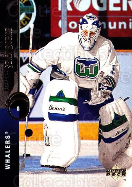 1994-95 Upper Deck #158 Sean Burke<br/>7 In Stock - $1.00 each - <a href=https://centericecollectibles.foxycart.com/cart?name=1994-95%20Upper%20Deck%20%23158%20Sean%20Burke...&quantity_max=7&price=$1.00&code=183782 class=foxycart> Buy it now! </a>