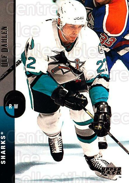 1994-95 Upper Deck #16 Ulf Dahlen<br/>7 In Stock - $1.00 each - <a href=https://centericecollectibles.foxycart.com/cart?name=1994-95%20Upper%20Deck%20%2316%20Ulf%20Dahlen...&quantity_max=7&price=$1.00&code=183784 class=foxycart> Buy it now! </a>
