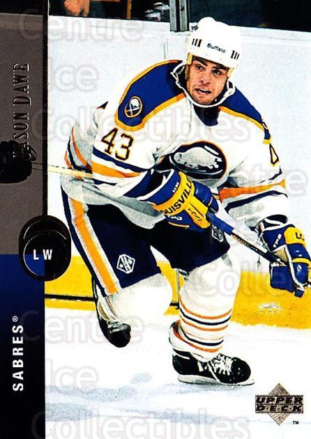 1994-95 Upper Deck #167 Jason Dawe<br/>5 In Stock - $1.00 each - <a href=https://centericecollectibles.foxycart.com/cart?name=1994-95%20Upper%20Deck%20%23167%20Jason%20Dawe...&quantity_max=5&price=$1.00&code=183792 class=foxycart> Buy it now! </a>