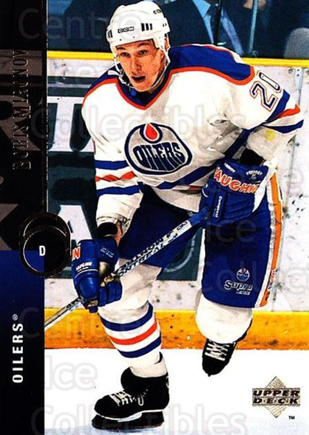 1994-95 Upper Deck #172 Boris Mironov<br/>6 In Stock - $1.00 each - <a href=https://centericecollectibles.foxycart.com/cart?name=1994-95%20Upper%20Deck%20%23172%20Boris%20Mironov...&quantity_max=6&price=$1.00&code=183798 class=foxycart> Buy it now! </a>