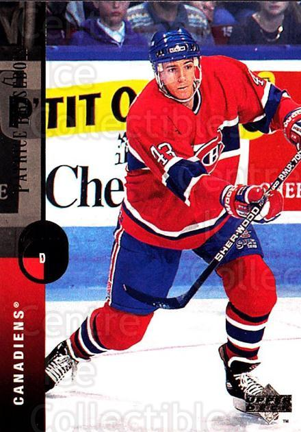 1994-95 Upper Deck #193 Patrice Brisebois<br/>7 In Stock - $1.00 each - <a href=https://centericecollectibles.foxycart.com/cart?name=1994-95%20Upper%20Deck%20%23193%20Patrice%20Brisebo...&quantity_max=7&price=$1.00&code=183821 class=foxycart> Buy it now! </a>