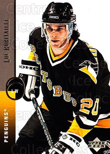 1994-95 Upper Deck #194 Luc Robitaille<br/>7 In Stock - $1.00 each - <a href=https://centericecollectibles.foxycart.com/cart?name=1994-95%20Upper%20Deck%20%23194%20Luc%20Robitaille...&quantity_max=7&price=$1.00&code=183822 class=foxycart> Buy it now! </a>