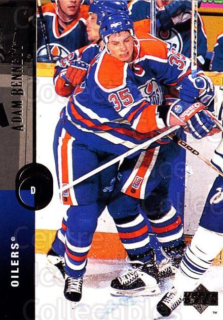 1994-95 Upper Deck #202 Adam Bennett<br/>6 In Stock - $1.00 each - <a href=https://centericecollectibles.foxycart.com/cart?name=1994-95%20Upper%20Deck%20%23202%20Adam%20Bennett...&quantity_max=6&price=$1.00&code=183832 class=foxycart> Buy it now! </a>