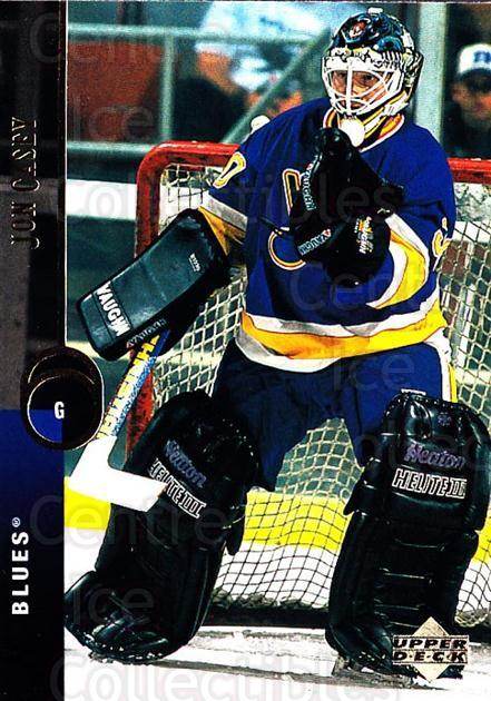 1994-95 Upper Deck #206 Jon Casey<br/>7 In Stock - $1.00 each - <a href=https://centericecollectibles.foxycart.com/cart?name=1994-95%20Upper%20Deck%20%23206%20Jon%20Casey...&quantity_max=7&price=$1.00&code=183836 class=foxycart> Buy it now! </a>
