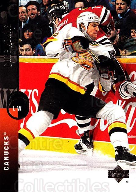 1994-95 Upper Deck #211 Greg Adams<br/>6 In Stock - $1.00 each - <a href=https://centericecollectibles.foxycart.com/cart?name=1994-95%20Upper%20Deck%20%23211%20Greg%20Adams...&quantity_max=6&price=$1.00&code=183842 class=foxycart> Buy it now! </a>