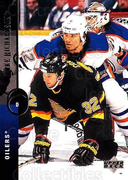 1994-95 Upper Deck #215 Luke Richardson<br/>7 In Stock - $1.00 each - <a href=https://centericecollectibles.foxycart.com/cart?name=1994-95%20Upper%20Deck%20%23215%20Luke%20Richardson...&quantity_max=7&price=$1.00&code=183846 class=foxycart> Buy it now! </a>