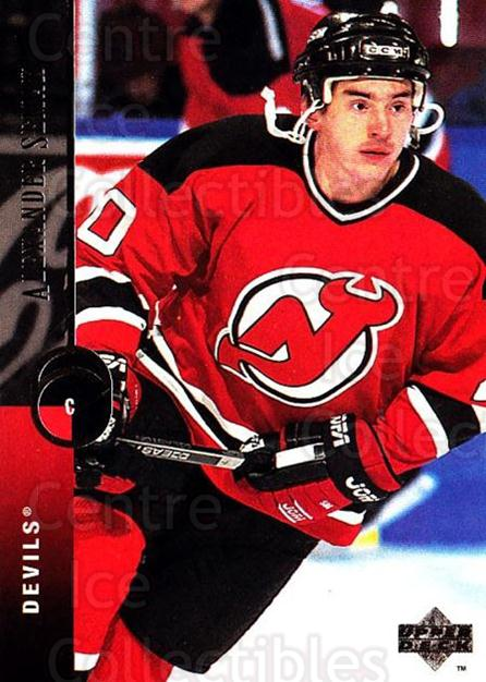1994-95 Upper Deck #219 Alexander Semak<br/>6 In Stock - $1.00 each - <a href=https://centericecollectibles.foxycart.com/cart?name=1994-95%20Upper%20Deck%20%23219%20Alexander%20Semak...&quantity_max=6&price=$1.00&code=183850 class=foxycart> Buy it now! </a>