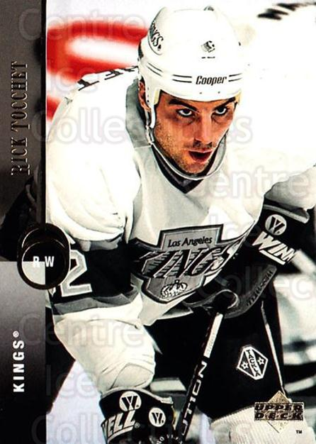 1994-95 Upper Deck #224 Rick Tocchet<br/>7 In Stock - $1.00 each - <a href=https://centericecollectibles.foxycart.com/cart?name=1994-95%20Upper%20Deck%20%23224%20Rick%20Tocchet...&quantity_max=7&price=$1.00&code=183855 class=foxycart> Buy it now! </a>
