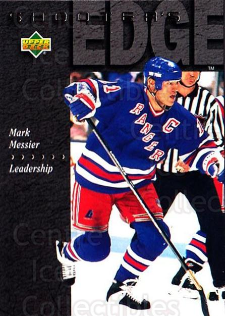 1994-95 Upper Deck #234 Mark Messier<br/>7 In Stock - $1.00 each - <a href=https://centericecollectibles.foxycart.com/cart?name=1994-95%20Upper%20Deck%20%23234%20Mark%20Messier...&quantity_max=7&price=$1.00&code=183866 class=foxycart> Buy it now! </a>