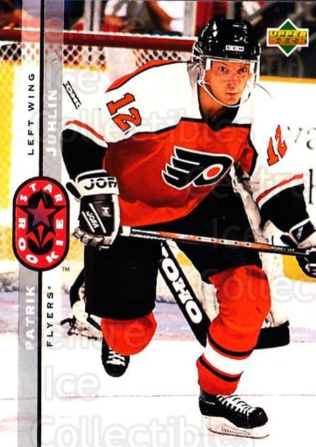 1994-95 Upper Deck #246 Patrik Juhlin<br/>6 In Stock - $1.00 each - <a href=https://centericecollectibles.foxycart.com/cart?name=1994-95%20Upper%20Deck%20%23246%20Patrik%20Juhlin...&quantity_max=6&price=$1.00&code=183879 class=foxycart> Buy it now! </a>