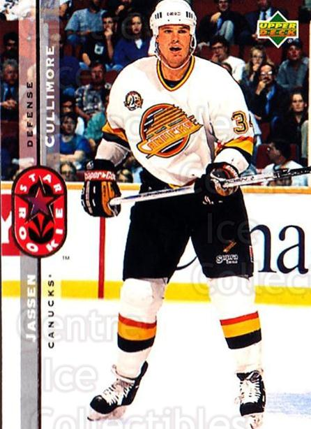 1994-95 Upper Deck #247 Jassen Cullimore<br/>5 In Stock - $1.00 each - <a href=https://centericecollectibles.foxycart.com/cart?name=1994-95%20Upper%20Deck%20%23247%20Jassen%20Cullimor...&quantity_max=5&price=$1.00&code=183880 class=foxycart> Buy it now! </a>