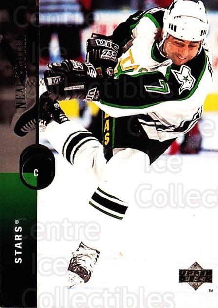 1994-95 Upper Deck #273 Neal Broten<br/>7 In Stock - $1.00 each - <a href=https://centericecollectibles.foxycart.com/cart?name=1994-95%20Upper%20Deck%20%23273%20Neal%20Broten...&quantity_max=7&price=$1.00&code=183907 class=foxycart> Buy it now! </a>