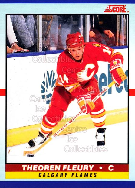 1990-91 Score Young Superstars #6 Theo Fleury<br/>17 In Stock - $2.00 each - <a href=https://centericecollectibles.foxycart.com/cart?name=1990-91%20Score%20Young%20Superstars%20%236%20Theo%20Fleury...&quantity_max=17&price=$2.00&code=18390 class=foxycart> Buy it now! </a>