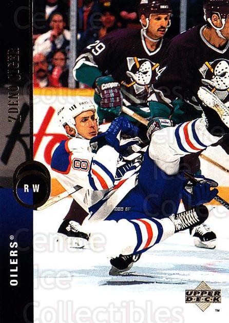 1994-95 Upper Deck #28 Zdeno Ciger<br/>7 In Stock - $1.00 each - <a href=https://centericecollectibles.foxycart.com/cart?name=1994-95%20Upper%20Deck%20%2328%20Zdeno%20Ciger...&quantity_max=7&price=$1.00&code=183914 class=foxycart> Buy it now! </a>