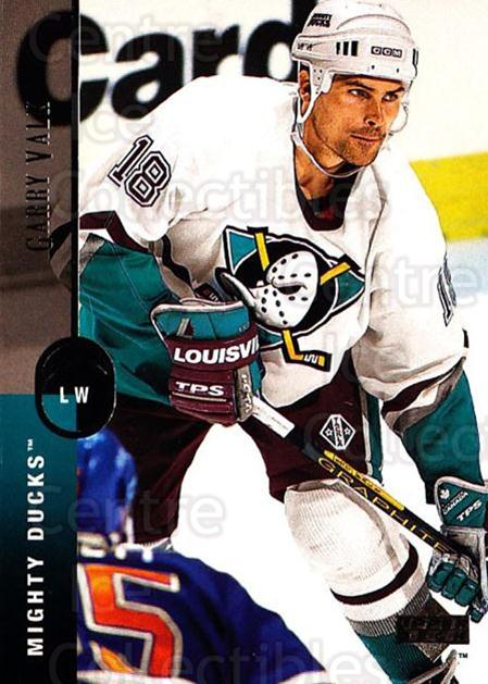 1994-95 Upper Deck #282 Garry Valk<br/>7 In Stock - $1.00 each - <a href=https://centericecollectibles.foxycart.com/cart?name=1994-95%20Upper%20Deck%20%23282%20Garry%20Valk...&quantity_max=7&price=$1.00&code=183917 class=foxycart> Buy it now! </a>