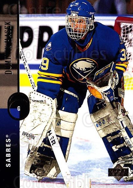 1994-95 Upper Deck #285 Dominik Hasek<br/>1 In Stock - $1.00 each - <a href=https://centericecollectibles.foxycart.com/cart?name=1994-95%20Upper%20Deck%20%23285%20Dominik%20Hasek...&quantity_max=1&price=$1.00&code=183920 class=foxycart> Buy it now! </a>