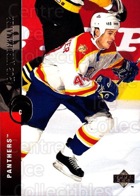 1994-95 Upper Deck #287 Rob Niedermayer<br/>6 In Stock - $1.00 each - <a href=https://centericecollectibles.foxycart.com/cart?name=1994-95%20Upper%20Deck%20%23287%20Rob%20Niedermayer...&quantity_max=6&price=$1.00&code=183922 class=foxycart> Buy it now! </a>